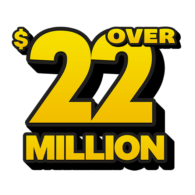 Mega Jackpot Lottery - 23 Million